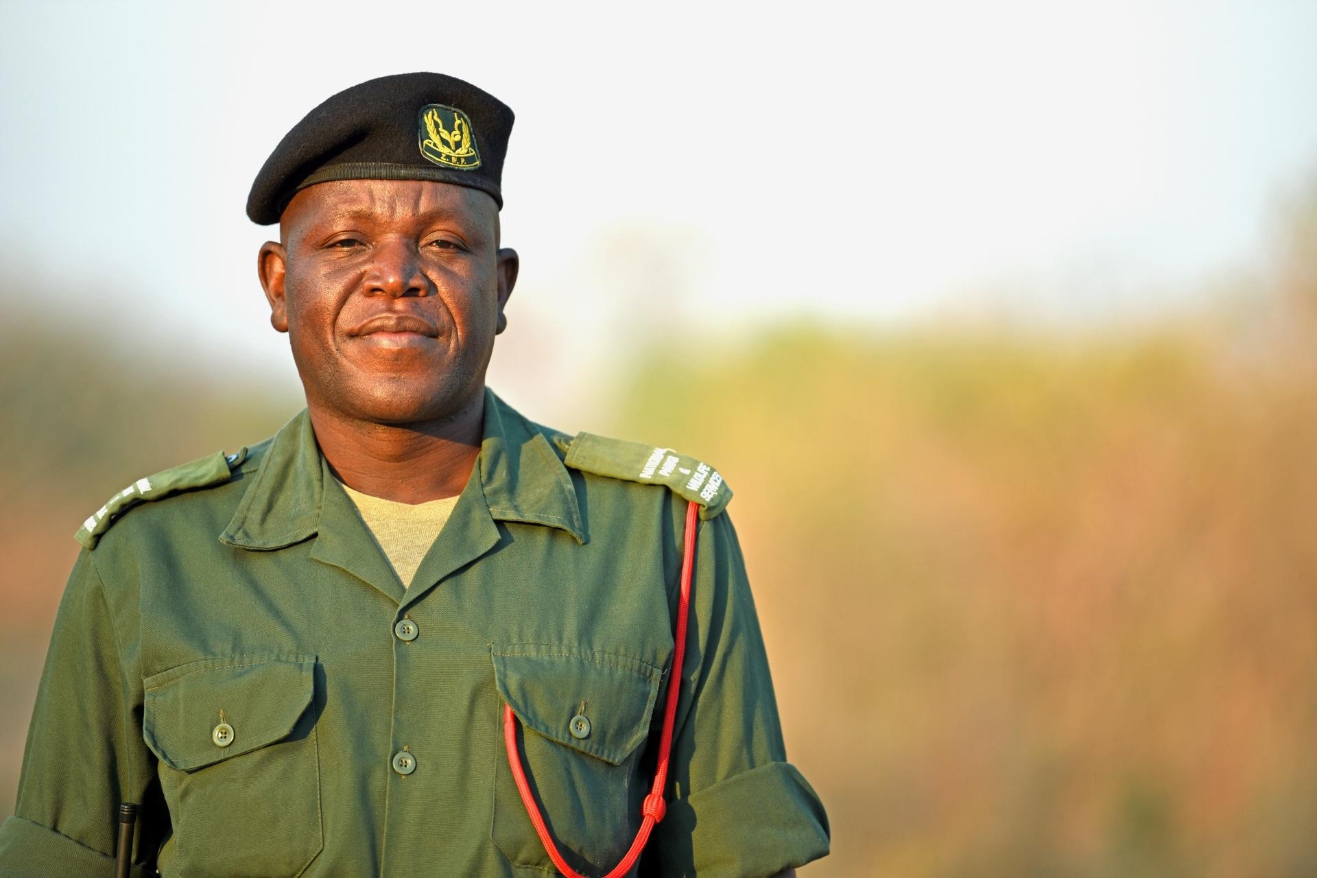Benson Kanyembo - Tusk Wildlife Ranger Award Winner - (c) Sarah Marshall 2019