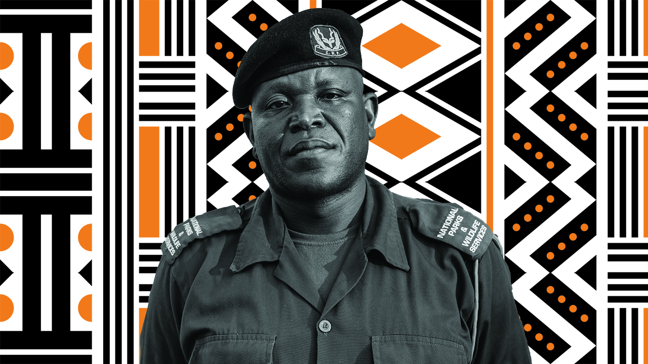 Benson Kanyembo- Tusk Wildlife Ranger Award Winner 2019