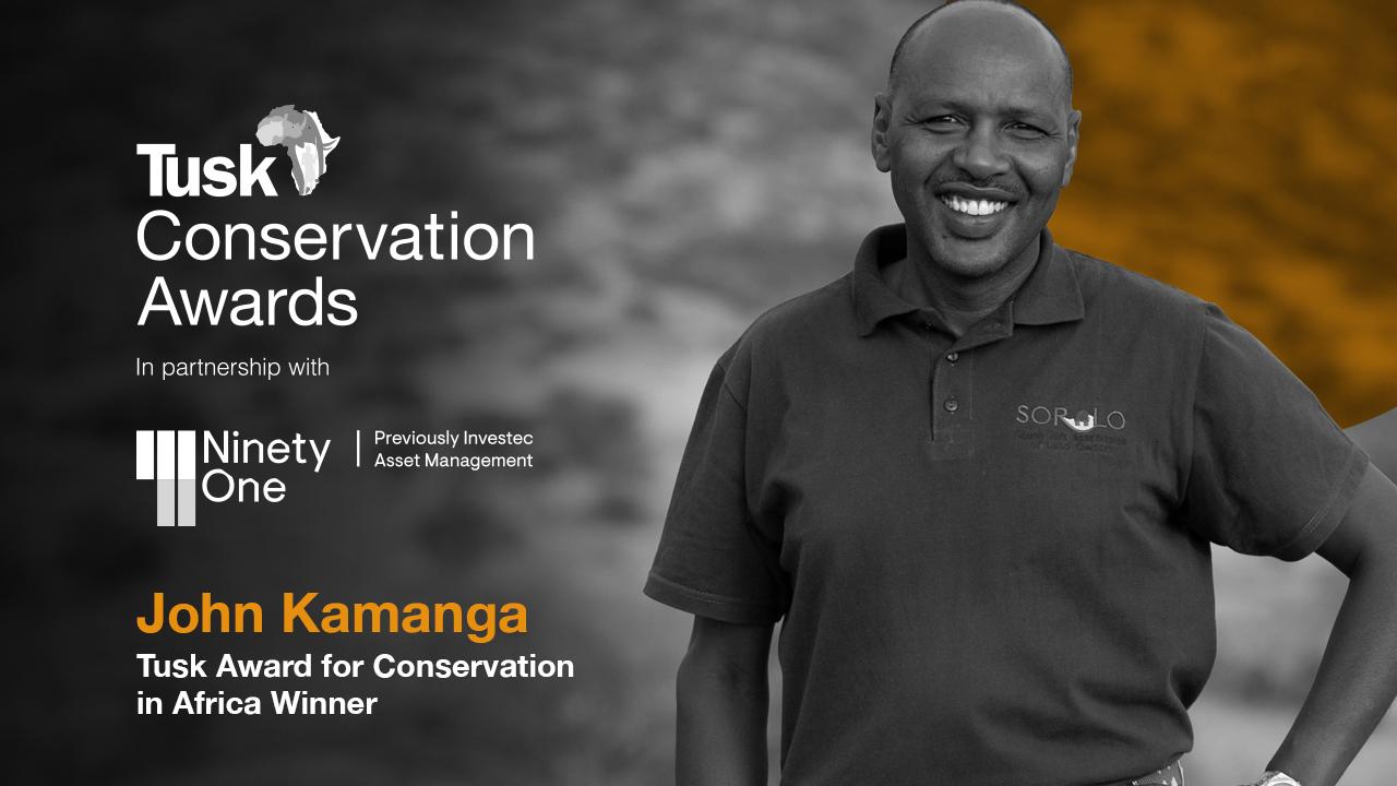 John Kamanga - Kenya - Tusk Conservation Award Winner 2020